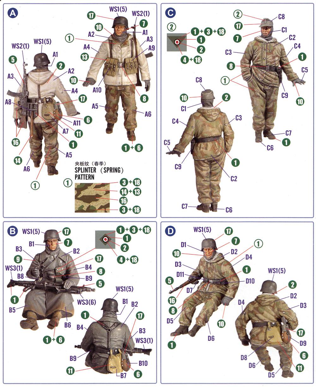 ドイツ 装甲擲弾兵セット Vol.2プラモデル(ホビーボス1/35 ファイティングビークル シリーズNo.84405)商品画像_1
