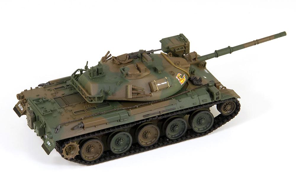陸上自衛隊 74式戦車 エッチングパーツ付プラモデル(ピットロード1/72 スモールグランドアーマーシリーズNo.SG012E)商品画像_4