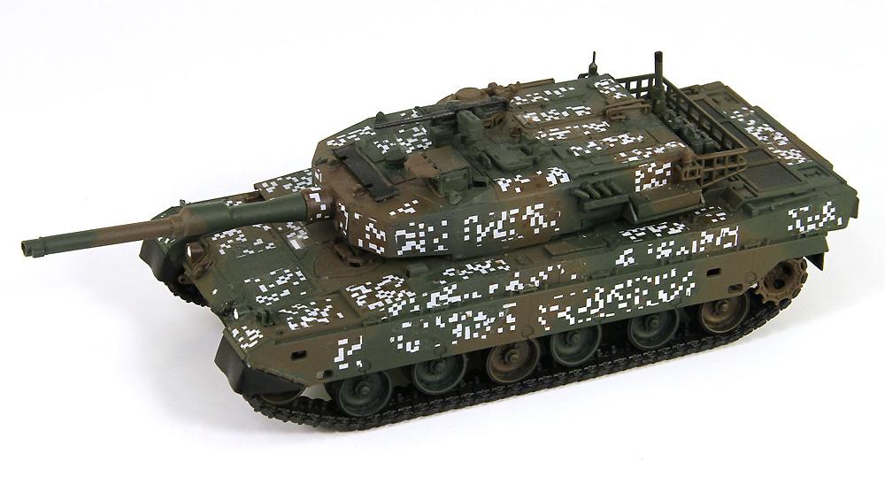 陸上自衛隊 90式戦車 エッチングパーツ付プラモデル(ピットロード1/72 スモールグランドアーマーシリーズNo.SG013E)商品画像_4