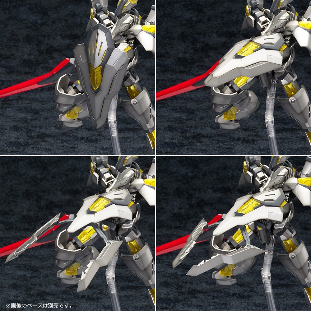 NSG-Z0/K ドゥルガー 2 : RE2プラモデル(コトブキヤフレームアームズ (FRAME ARMS)No.030)商品画像_4