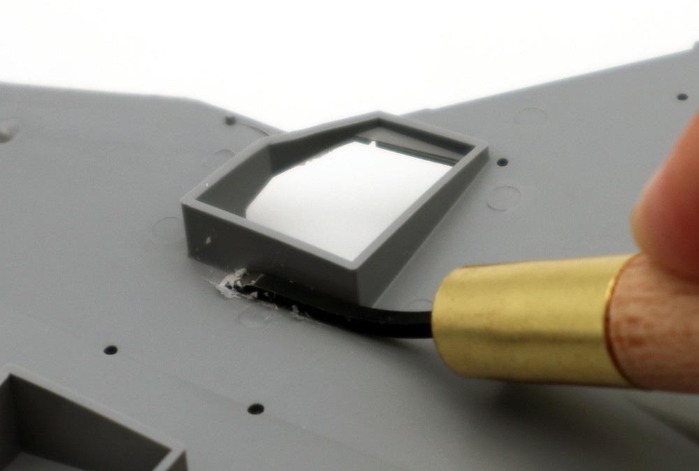 Mr.平刀 (ひらとう) 刃の幅 1.5mm彫刻刀(GSIクレオスGツールNo.GT125)商品画像_2