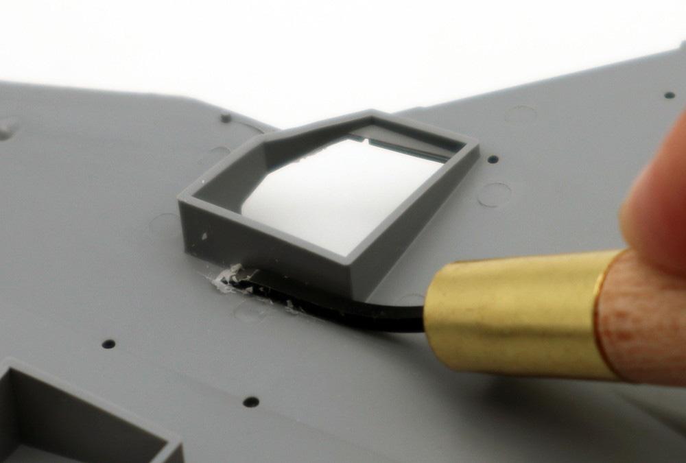 Mr.平刀 (ひらとう) 刃の幅 3.0mm彫刻刀(GSIクレオスGツールNo.GT126)商品画像_2