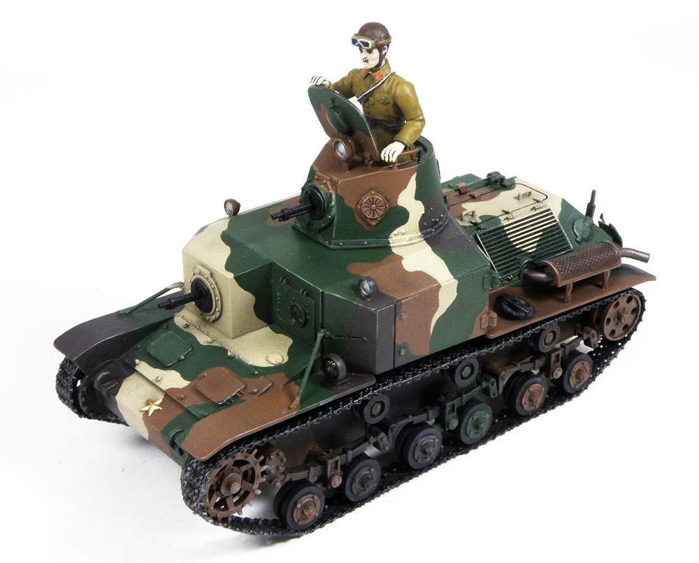 日本陸軍 九二式重装甲車 前期型 (ピットロード 1/35 グランドアーマーシリーズ G52) の商品画像