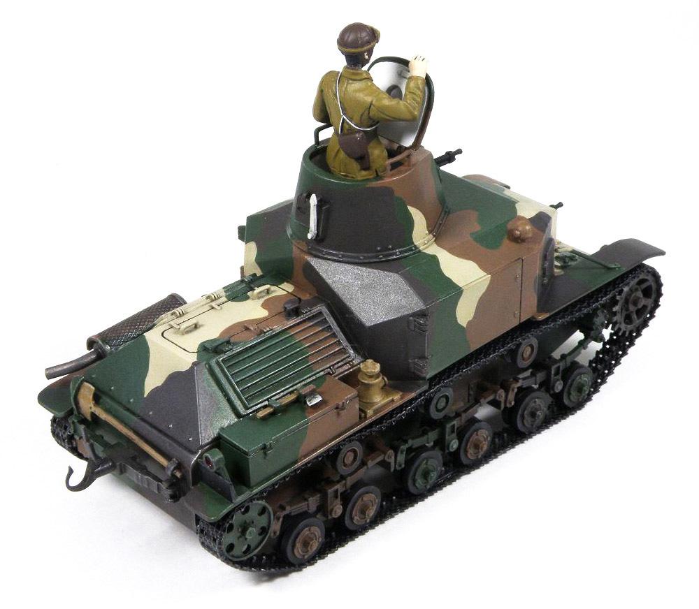 日本陸軍 九二式重装甲車 前期型プラモデル(ピットロード1/35 グランドアーマーシリーズNo.G052)商品画像_3