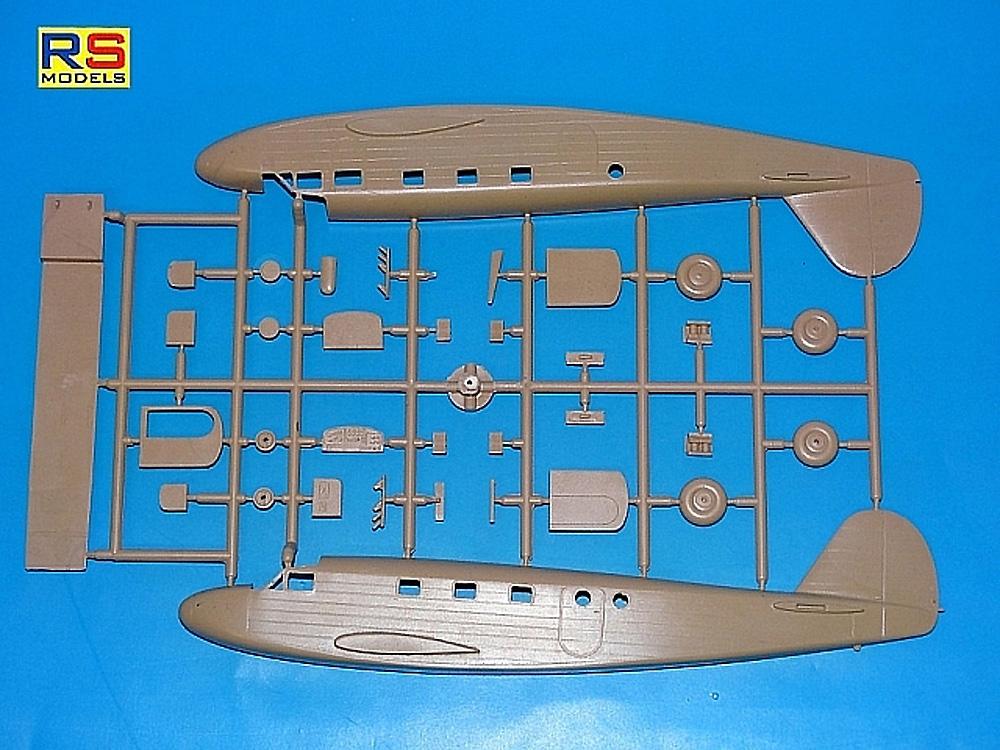 コードロン C-445 ゴエラン フランス 1940プラモデル(RSモデル1/72 エアクラフト プラモデルNo.92253)商品画像_2