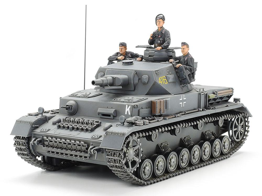ドイツ 4号戦車 F型プラモデル(タミヤ1/35 ミリタリーミニチュアシリーズNo.374)商品画像_1