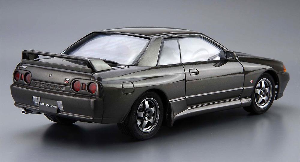 ニッサン BNR32 スカイライン GT-R '89プラモデル(アオシマ1/24 ザ・モデルカーNo.012)商品画像_3