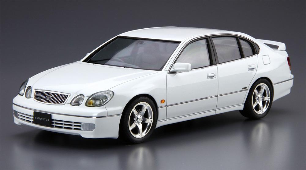 トヨタ JZS161 アリスト V300 ベルテックスエディション '97プラモデル(アオシマ1/24 ザ・モデルカーNo.097)商品画像_2