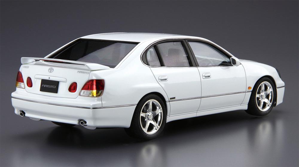 トヨタ JZS161 アリスト V300 ベルテックスエディション '97プラモデル(アオシマ1/24 ザ・モデルカーNo.097)商品画像_3