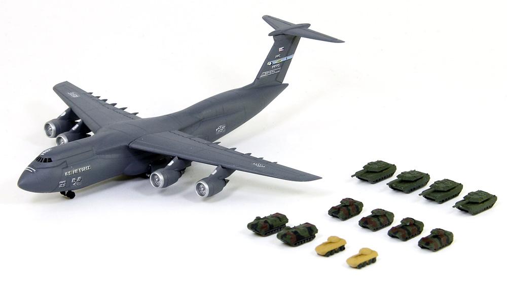 アメリカ空軍機セット 3プラモデル(ピットロードスカイウェーブ S シリーズNo.S055)商品画像_3