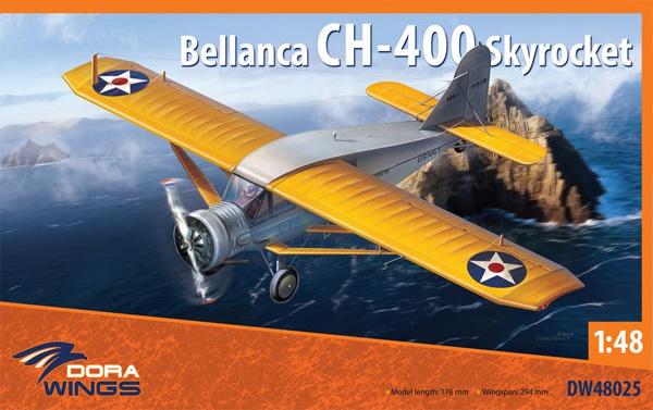 べランカ CH-400 スカイロケットプラモデル(ドラ ウイングス1/48 エアクラフト プラモデルNo.DW48025)商品画像