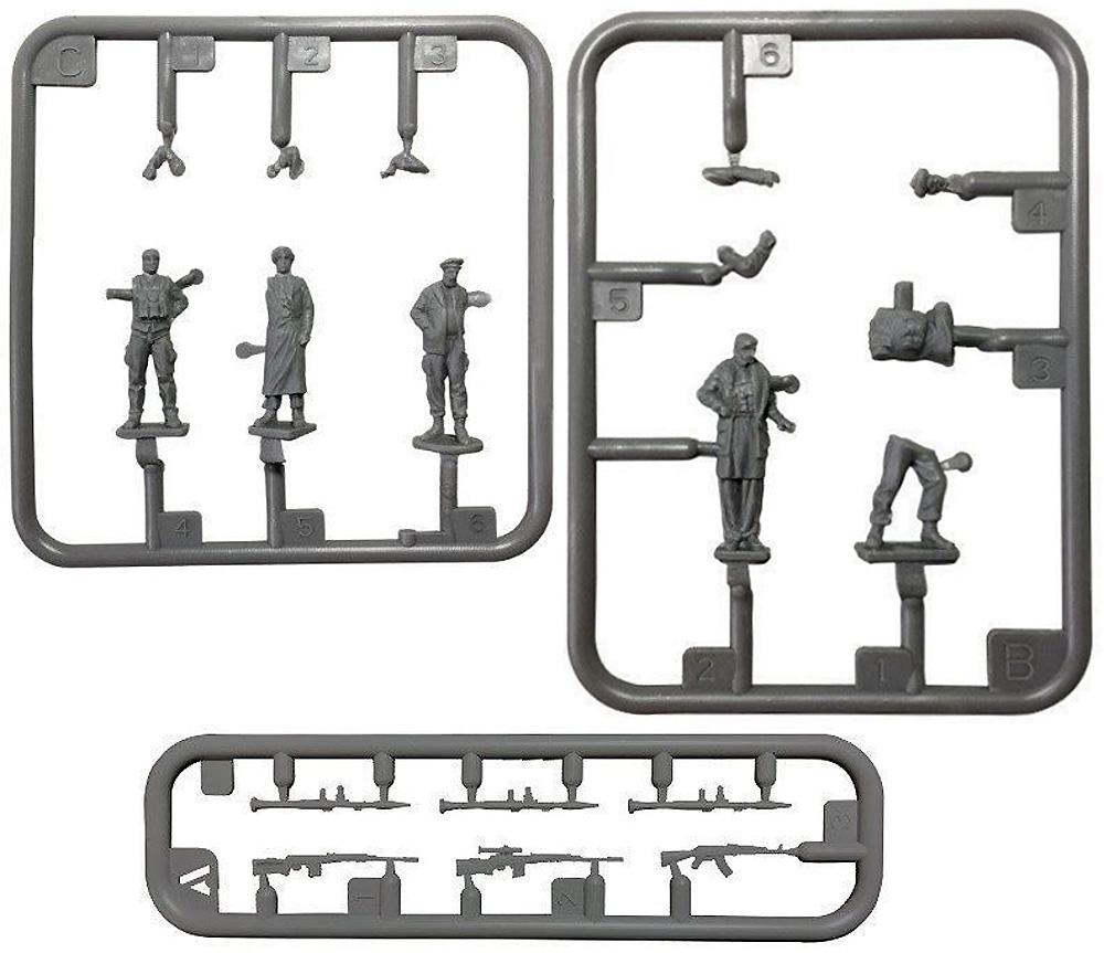 中東兵士セットプラモデル(ティーモデル1/72 ミリタリー プラモデルNo.TK7312)商品画像_1