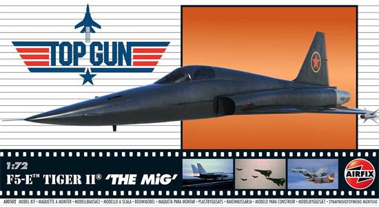 F5-E タイガー 2 THE MiG TOP GUNプラモデル(エアフィックス1/72 ミリタリーエアクラフトNo.A00502)商品画像