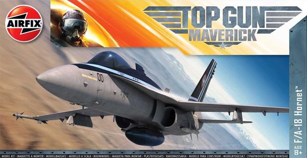 F/A-18 ホーネット TOP GUN マーヴェリックプラモデル(エアフィックス1/72 ミリタリーエアクラフトNo.A00504)商品画像