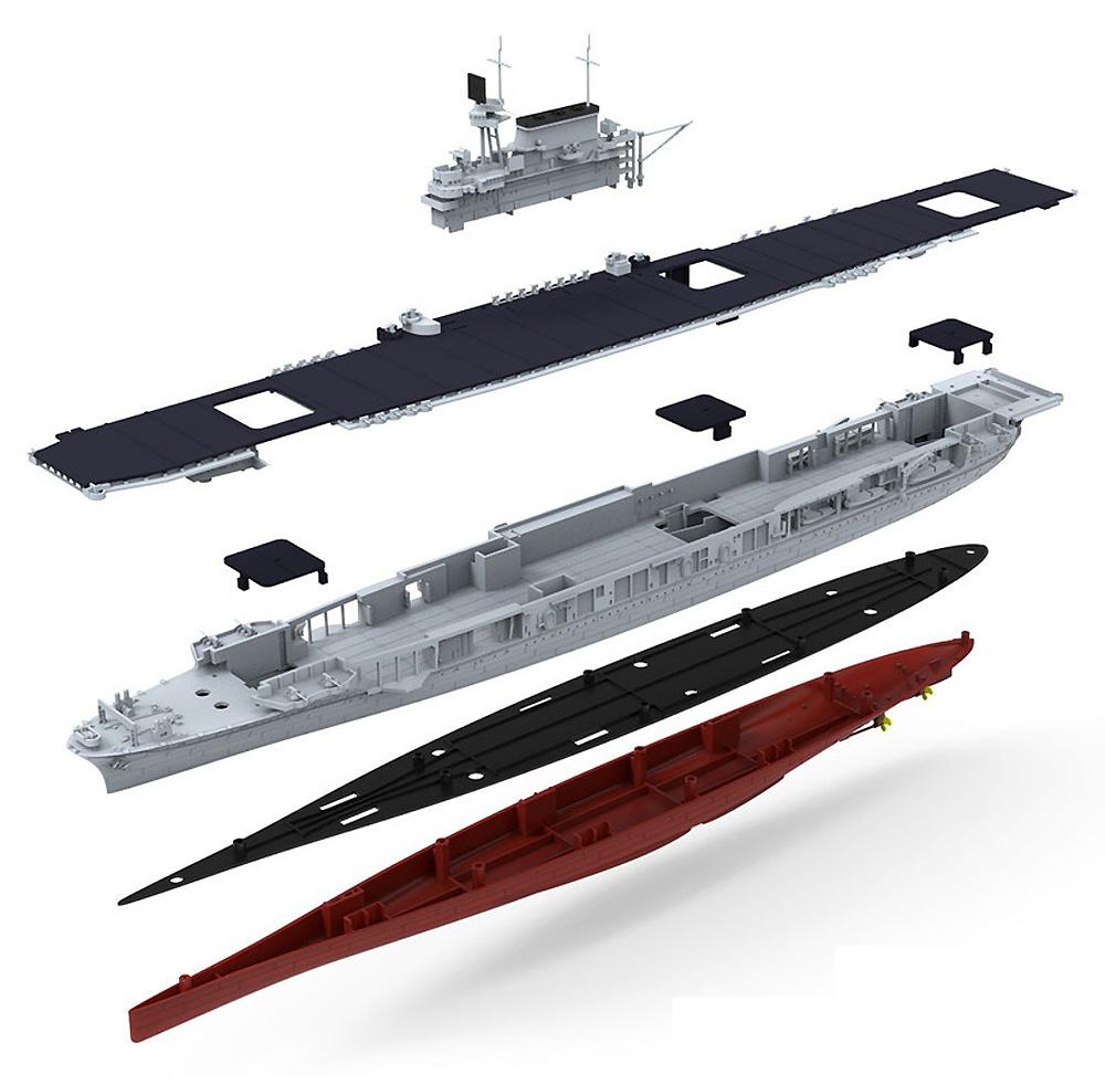 アメリカ海軍 航空母艦 U.S.S. エンタープライズ (CV-6)プラモデル(MENG-MODEL1/700 艦船No.PS-005)商品画像_1