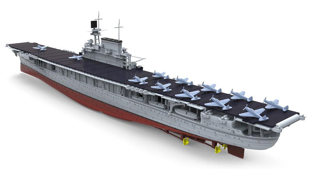 アメリカ海軍 航空母艦 U.S.S. エンタープライズ (CV-6)プラモデル(MENG-MODEL1/700 艦船No.PS-005)商品画像_2