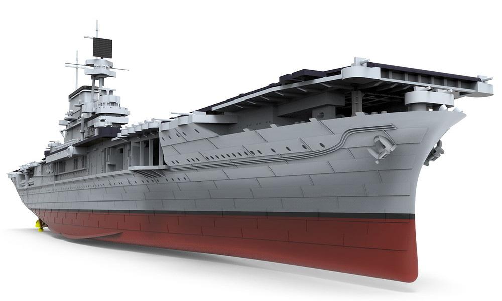 アメリカ海軍 航空母艦 U.S.S. エンタープライズ (CV-6)プラモデル(MENG-MODEL1/700 艦船No.PS-005)商品画像_3