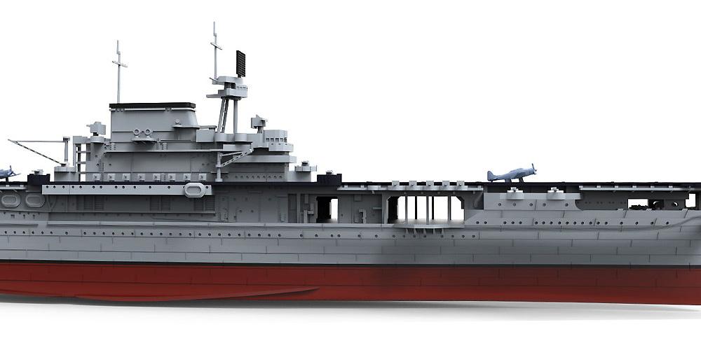 アメリカ海軍 航空母艦 U.S.S. エンタープライズ (CV-6)プラモデル(MENG-MODEL1/700 艦船No.PS-005)商品画像_4