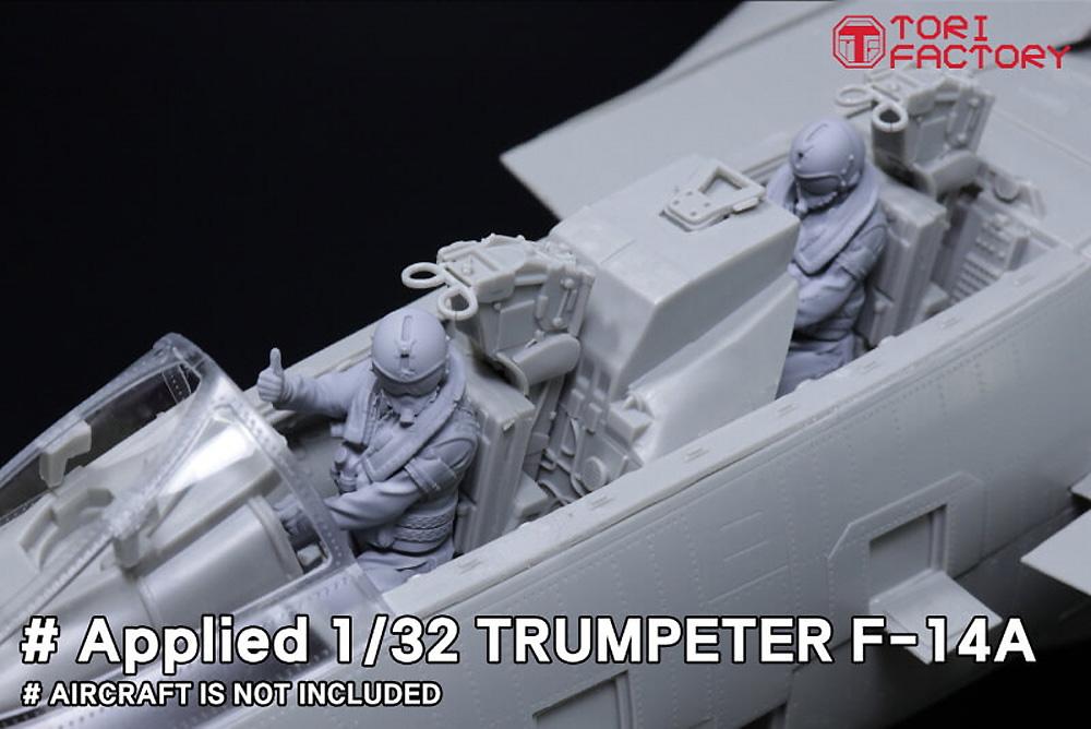 現用 アメリカ海軍 デッキクルー & パイロットプラモデル(トリファクトリーMILITARY FIGURE SERIESNo.MF-011A)商品画像_2