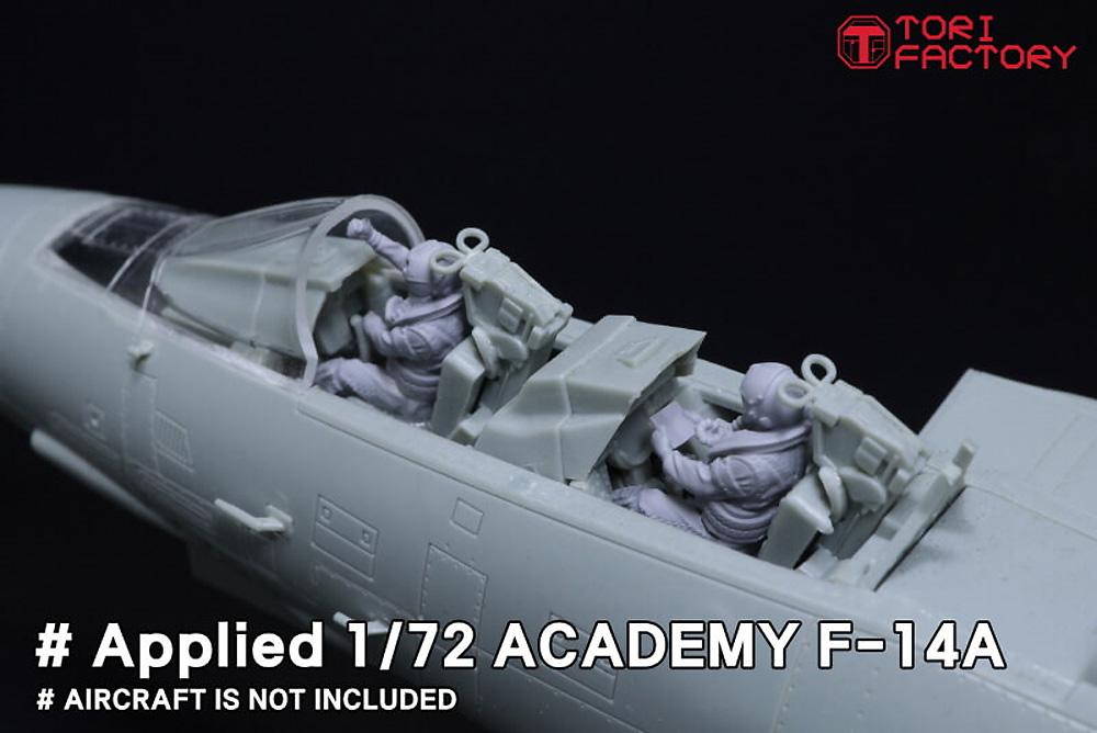 現用 アメリカ海軍 デッキクルー & パイロットプラモデル(トリファクトリーMILITARY FIGURE SERIESNo.MF-011C)商品画像_2