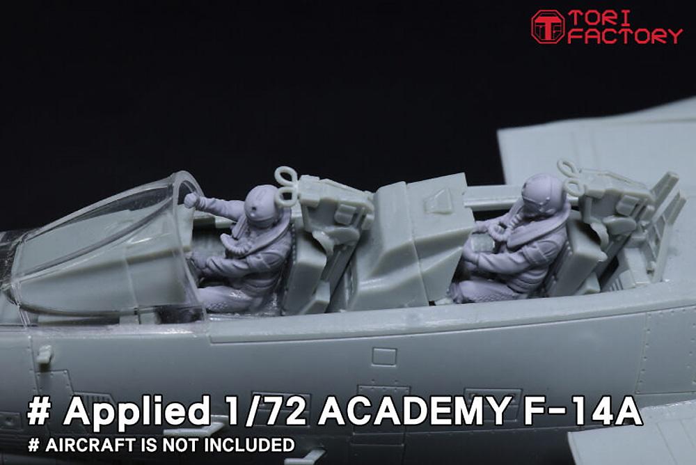 現用 アメリカ海軍 デッキクルー & パイロットプラモデル(トリファクトリーMILITARY FIGURE SERIESNo.MF-011C)商品画像_3