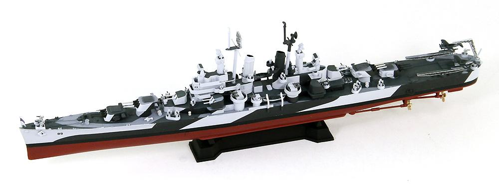 アメリカ海軍 軽巡洋艦 CL-89 マイアミ エッチングパーツ付(プラモデル)(ピットロード1/700 スカイウェーブ W シリーズNo.W209E)商品画像_2