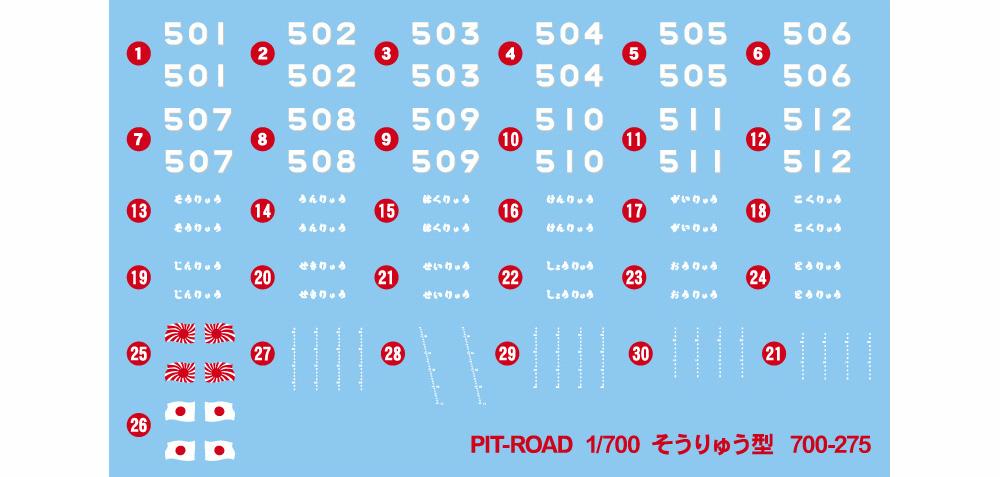 海上自衛隊 潜水艦 SS-501 そうりゅうプラモデル(ピットロード1/700 スカイウェーブ J シリーズNo.J093)商品画像_2
