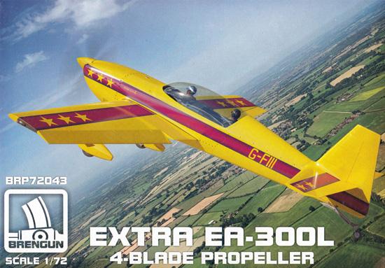 エクストラ EA-300L プロペラ4枚型プラモデル(ブレンガン1/72 Plastic kitsNo.BRP72043)商品画像