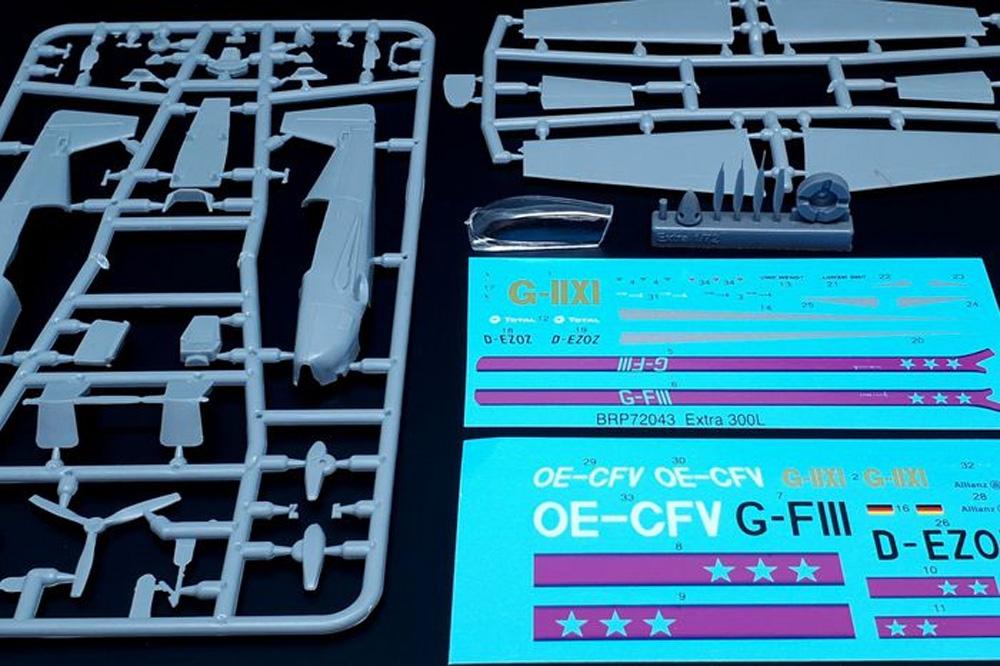 エクストラ EA-300L プロペラ4枚型プラモデル(ブレンガン1/72 Plastic kitsNo.BRP72043)商品画像_1