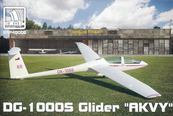DG-1000S グライダー アクビープラモデル(ブレンガン1/48 プラスチックキット (Plastic Kits)No.BRP48006)商品画像