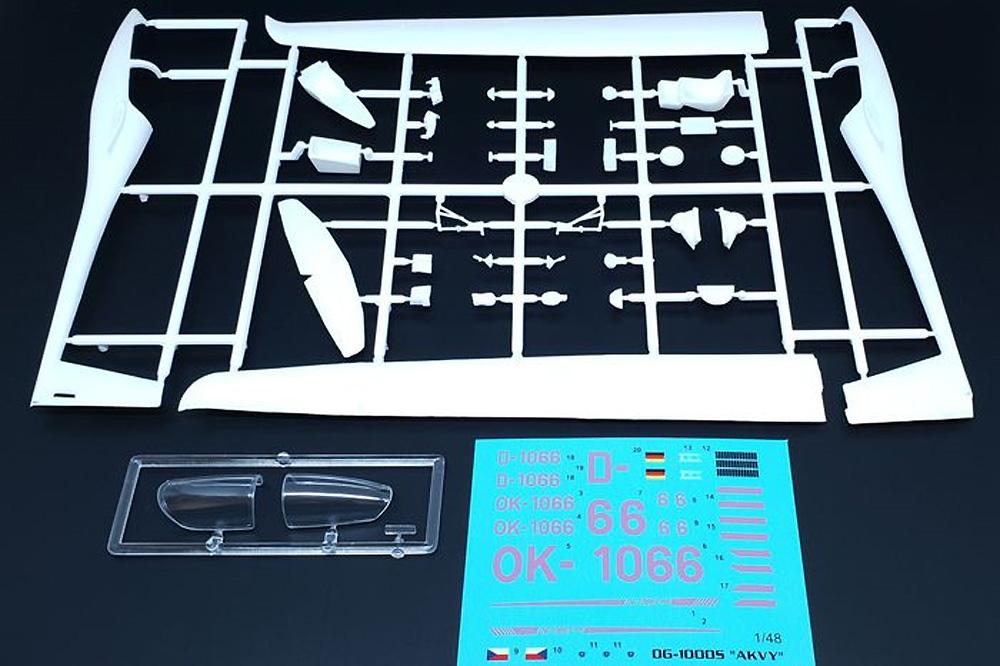 DG-1000S グライダー アクビープラモデル(ブレンガン1/48 プラスチックキット (Plastic Kits)No.BRP48006)商品画像_1