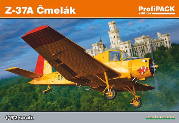 LET Z-37 チメラック 農業機プラモデル(エデュアルド1/72 プロフィパックNo.7097)商品画像