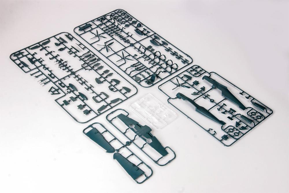 メッサーシュミット Bf109G-6/ASプラモデル(エデュアルド1/48 ウィークエンド エディションNo.84169)商品画像_1