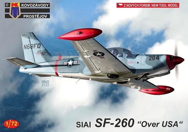 SIAI SF-260 アメリカ上空プラモデル(KPモデル1/72 エアクラフト プラモデルNo.KPM0209)商品画像