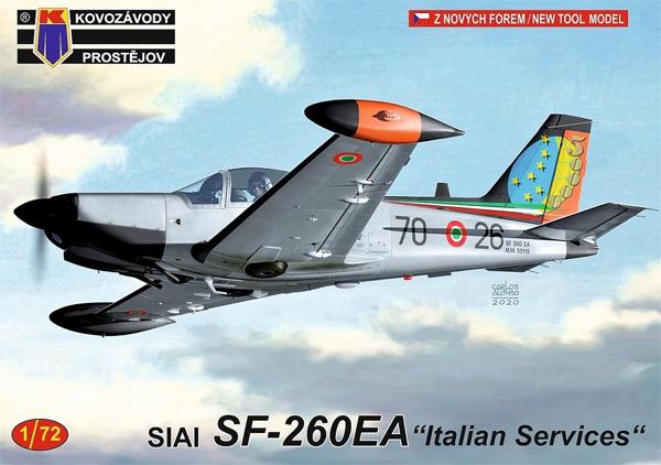 SIAI SF-260EA イタリアプラモデル(KPモデル1/72 エアクラフト プラモデルNo.KPM0211)商品画像