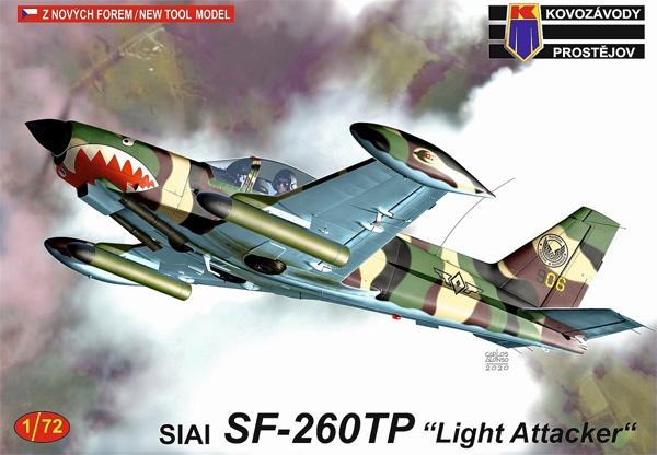 SIAI SF-260TP 軽攻撃機型プラモデル(KPモデル1/72 エアクラフト プラモデルNo.KPM0214)商品画像