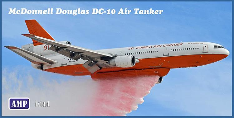 マクドネル・ダグラス DC-10 エアタンカー (空中消火機)プラモデル(AMP1/144 プラスチックモデルNo.144-005)商品画像
