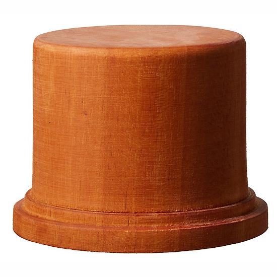 木製ベース 丸型 Mディスプレイベース(GSIクレオスVANCE ディスプレイグッズNo.DB003)商品画像