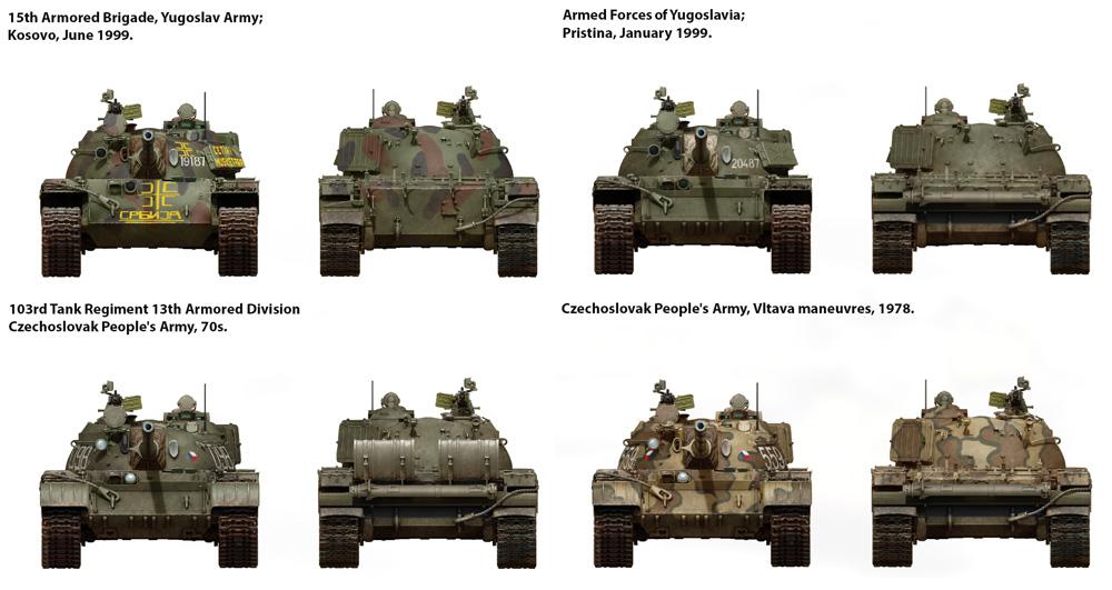 T-55A チェコスロバキア製プラモデル(ミニアート1/35 ミリタリーミニチュアNo.37084)商品画像_2