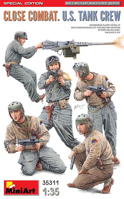 アメリカ 戦車兵 近接戦闘中 スペシャルエディションプラモデル(ミニアート1/35 WW2 ミリタリーミニチュアNo.35311)商品画像