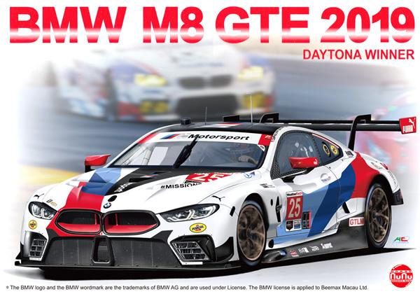 BMW M8 GTE 2019 デイトナ24時間レース ウィナープラモデル(NuNu1/24 レーシングシリーズNo.PN24010)商品画像