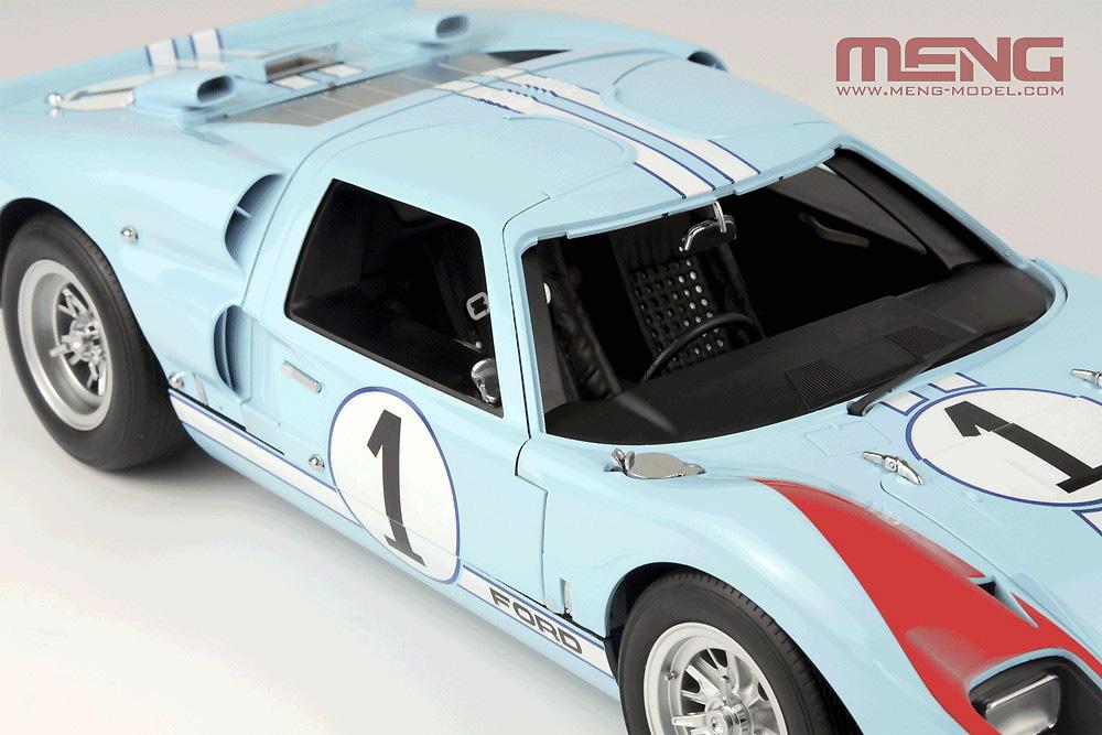 フォード GT40 Mk.2 '66プラモデル(MENG-MODELカー シリーズNo.MRS002)商品画像_3