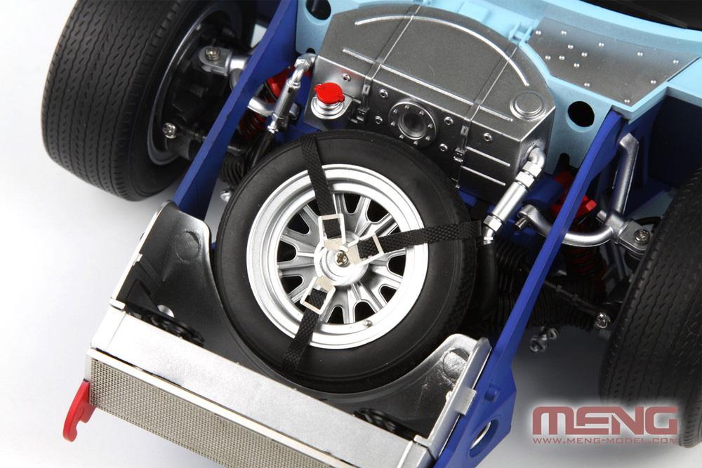 フォード GT40 Mk.2 '66プラモデル(MENG-MODELカー シリーズNo.MRS002)商品画像_4