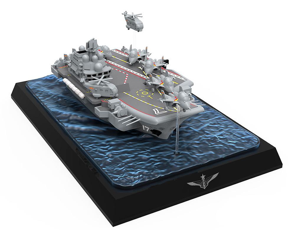 中国海軍 航空母艦 山東プラモデル(MENG-MODELウォーシップビルダーNo.MWB008)商品画像_2