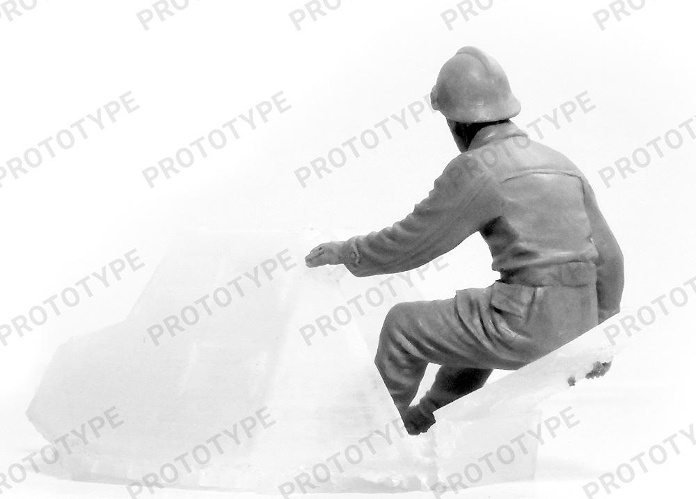 WW2 フランス タンククループラモデル(ICM1/35 ミリタリービークル・フィギュアNo.35647)商品画像_4