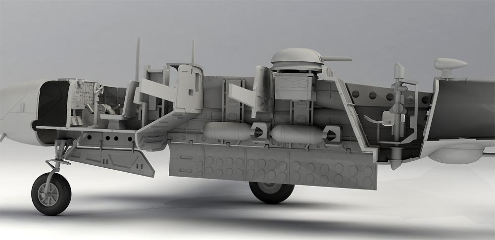 A-26B インベ-ダー 太平洋戦争プラモデル(ICM1/48 エアクラフト プラモデルNo.48285)商品画像_3