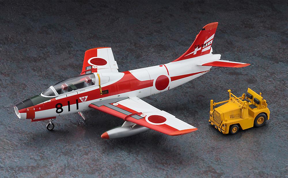 富士 T-1A/B w/牽引車プラモデル(ハセガワ1/72 飛行機 限定生産No.02364)商品画像_2