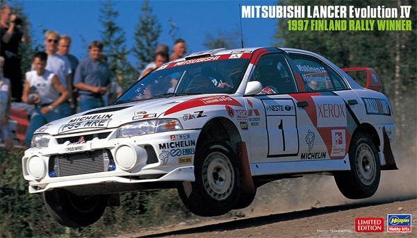 三菱 ランサー エボリューション 4 1997 フィンランドラリー ウィナープラモデル(ハセガワ1/24 自動車 限定生産No.20480)商品画像