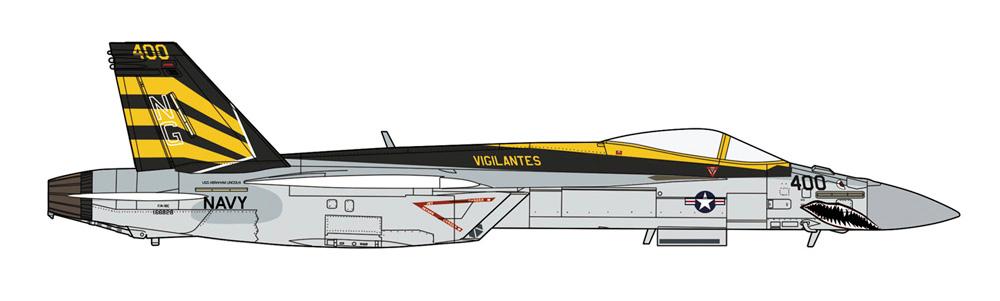 F/A-18E スーパーホーネット VFA-151 ビジランティーズ CAGプラモデル(ハセガワ1/72 飛行機 限定生産No.02365)商品画像_2