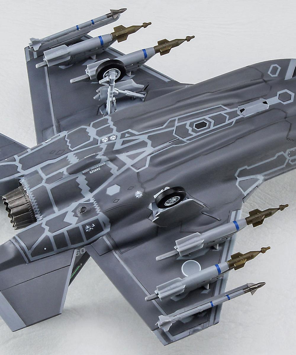 F-35 ライトニング 2 (A型) ビーストモード J.A.S.D.Fプラモデル(ハセガワ1/72 飛行機 限定生産No.02366)商品画像_4